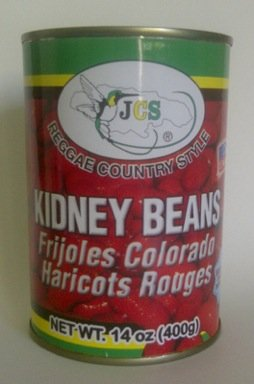JCS Kidney Beans - Frijoles Colorados (Haricots Rouges) 3 Pack (14oz Each Can)- Product of Italy