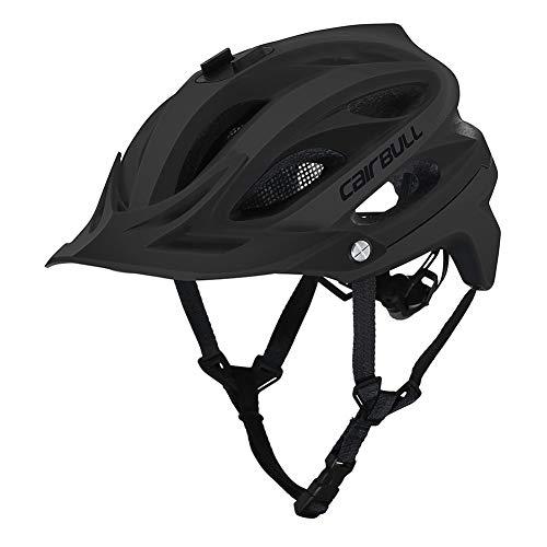 GrmeisLemc Cairbull AllSet Cycling MTB Bike Bicycle Safe in-Mold Helmet with Camera Mount - Black