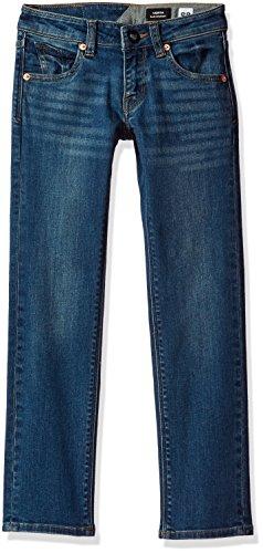 Volcom Big Boys' Vorta Jeans, Dust Bowl Indigo, 23 (Jeans Slim Volcom)