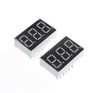 Compatible (por arduino) módulo de pantalla de 3 dígitos - 0.36in (2pcs).