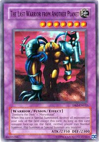 Yu-Gi-Oh  - The Last Warrior Warrior Warrior from Another Planet (DB2-EN012) - Dark Beginning... bc670e