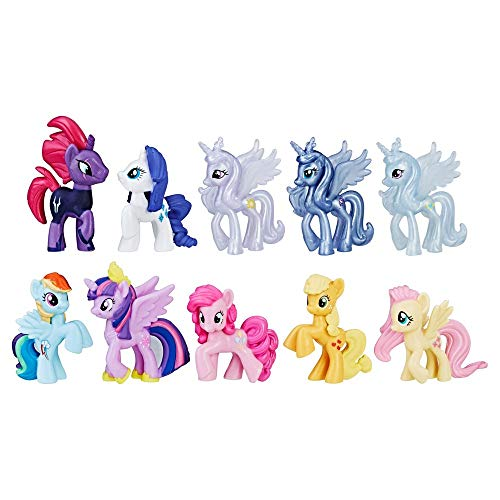 My Little Pony The Movie Magic of Everypony Round up mini figure collection ()