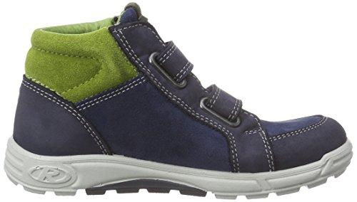 Ricosta Jonah - zapatillas deportivas altas de piel niños azul - Blau (nautic/reef 172)