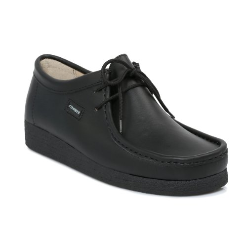 Tower 1000 Black Napa Leather Wallaby Shoes-UK 7