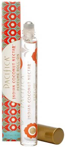 Pacifica Beauty Perfume Roll-on, Indian Coconut Nectar, 0.33 Fluid Ounce