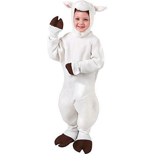 Child's Sheep Halloween Costume, Size Large 10-12 -