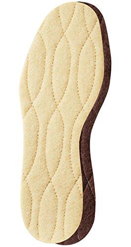 (Pedag 116 Keep Warm All Natural Wool Insoles, US 12L/9M/EU 42)