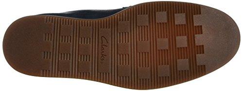 Clarks Calderon Lace, Scarpe Stringate Uomo Blu (Navy Leather)