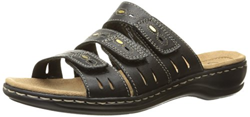 UPC 889305121081, Clarks Women's Leisa Broach Dress Sandal, Black, 7.5 M US