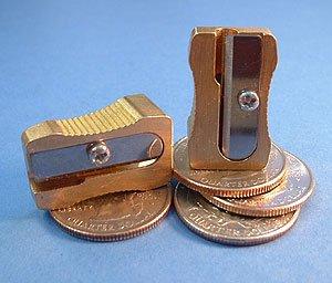 (Kum Solid Brass Single Hole Pencil Sharpener)