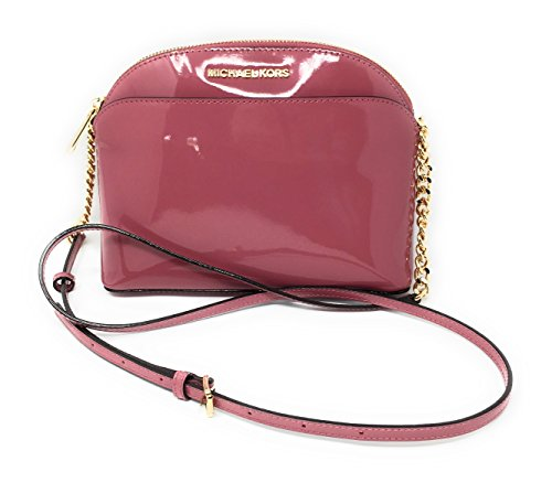 Michael Kors Emmy tulip patent leather medium crossbody bag