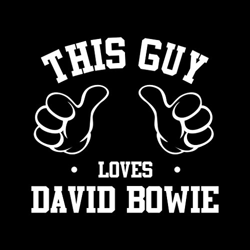 This Coto7 David Women's Bowie Sweatshirt Guy Loves Hooded FaHwd8qa7