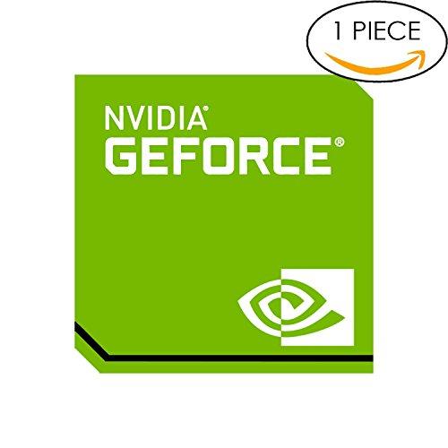 Original NVIDIA Geforce Sticker 17.5mm x 17.5mm with Authentic (Gtx 750 Ti Ftw)