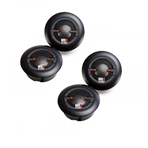 MB Quart XT1-20 X Series 20mm Titanium Tweeter Kit 20mm Titanium Dome Tweeters