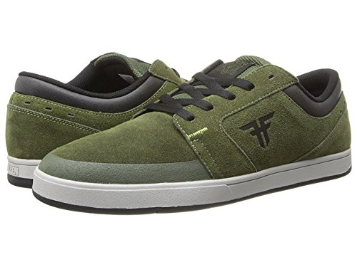FALLEN TORCH SURPLUS GREEN/BLACK HARDY Signature Skate Shoes