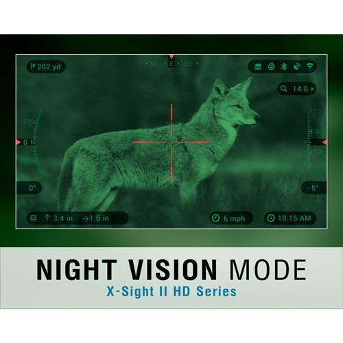 TheOpticGuru ATN X-Sight-II Smart Day/Night Hunting Rifle Scope with Full HD Video rec, WiFi, GPS, Smooth Zoom and Smartphone Controlling Thru iOS or Android Apps (5-20x) by TheOpticGuru