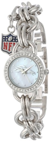 - Game Time Women's Charm NFL Series' Quartz Metal and Alloy Casual Watch, Color:Silver-Toned (Model CHM-DEN)