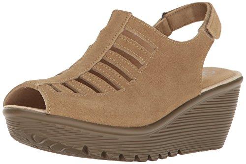 Skechers Women's Parallel-Trapezoid Wedge Sandal - Dark N...