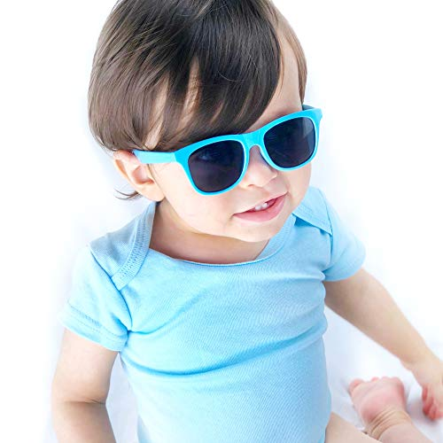 (Kd3006 infant baby Toddlers 0~24 Months Old 80s Sunglasses (Baby)