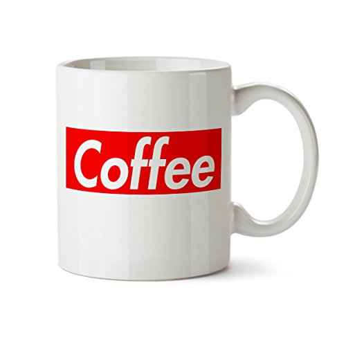 Funny Red Coffee Mug - 11 oz. - Porcelain