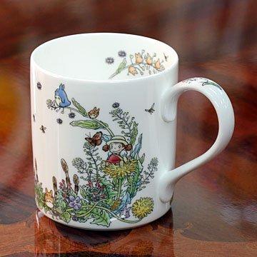 Totoro My Neighbor Totoro mug dandelion Hen [ My Neighbor Totoro mug mug tableware Totoro Studio Ghibli ] -  Noritake, T97265/4660-2