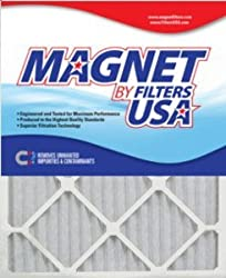 28x30x1 (27.5 x 29.5) Magnet by FiltersUSA 1-Inch Furnace Filter (MERV 8) 4 filter pack - One Years Supply