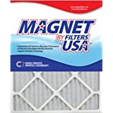 24x30x1 (23.5 x 29.5) Magnet by FiltersUSA 1-Inch Filter (MERV 6) 4 filter pack - One Years Supply