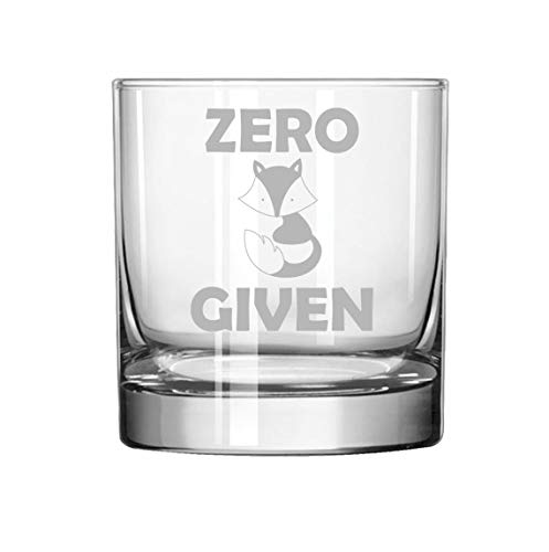 11 oz Rocks Whiskey Highball Glass Zero Fox Given - Highball Fox Glass