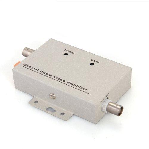 SODIAL(R) BNC Coaxial Video Balun Amplifier for CCTV Security Camera 025667