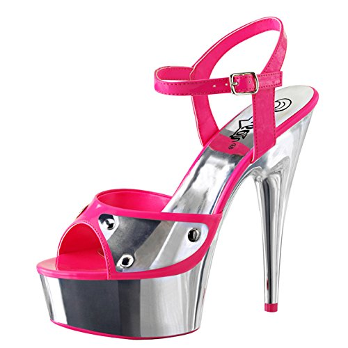 Pleaser - Sexier Than Ever Plateau Sandaletten DELIGHT-609NC
