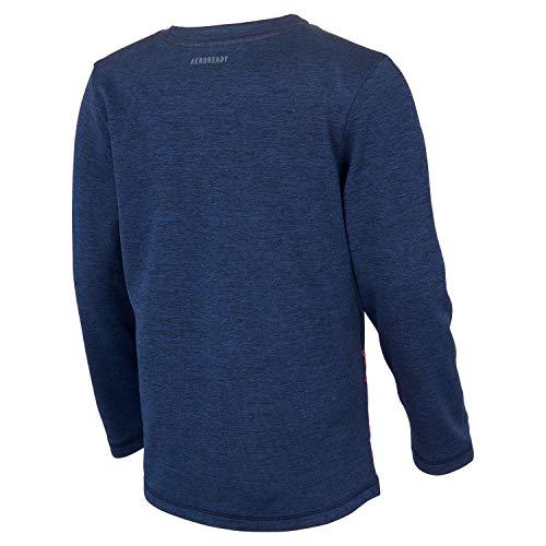 adidas Boys' Stay Dry Moisture-Wicking Aeroready Long Sleeve T-Shirt 2