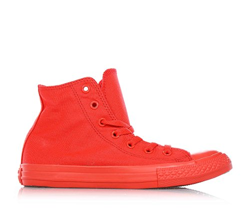 Converse All Star Hi Canvas Monochrome - Zapatillas abotinadas Unisex Niños Rosso