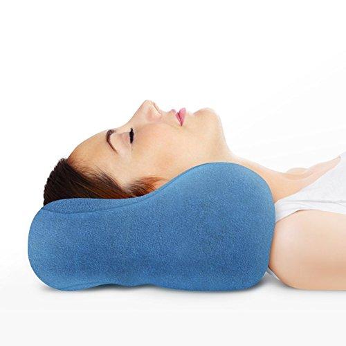 Sunshine Pillows Ergonomic Travel Neck Pillow, Comfortable ...