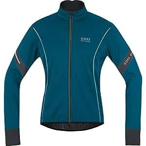 Gore Bike Wear- Hombre- Chaqueta de Ciclismo Power 2.0 Windstopper Soft Shell- Azul Oscuro, Talla XL- JWMPOW