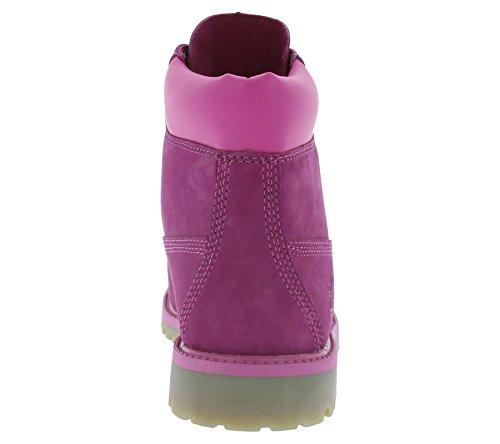 Timberland 6 in Premium Waterproof, Polacchine Unisex-bambini Viola