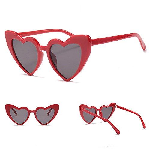 en lunettes LOVE designer soleil de mode Dames soleil forme femmes marque de coeur de 5 lunettes d7RTzPR