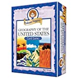 Professor Noggin's Geography of The United States - Educational Trivia Card Game for Kids - 180 Questions - Ages 7+