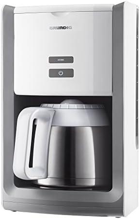 Grundig KM 8280 W - Cafetera (jarra térmica de 1,5 l, depósito de ...