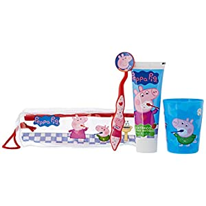 Lorenay Kit Di Pulizia Dei Denti Per Bambini – Peppa Pig – 480 Ml