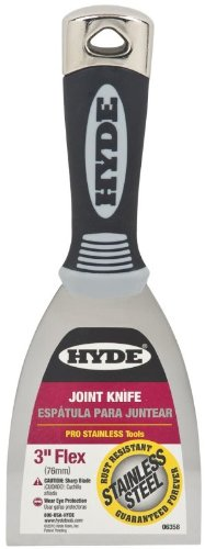 5 Pack Hyde 06358 3'' Flexible Pro Stainless Joint Knife