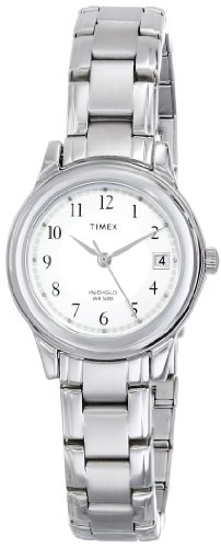 Timex+Women%27s+T29271+Elevated+Classics+Dress+Sport+Chic+Silver-Tone+Bracelet+Watch