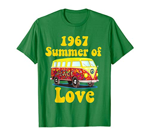 (1967 Summer of Love Retro Tees Vintage Sixties Hippie)