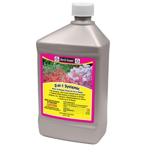 (Voluntary Purchasing Group 10478 Fertilome Concentrate 2 in 1 Systemic Insect Fungicide,)