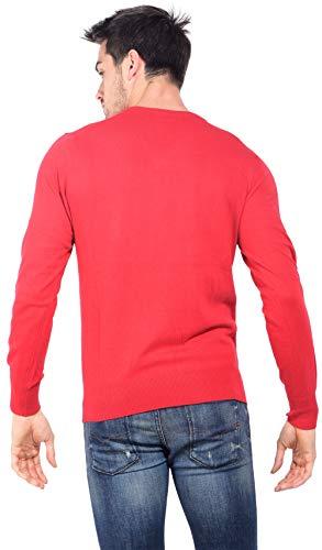 Le Rouge Col Français Cachemire Bicolore V Pull Homme 8qRTx8wr