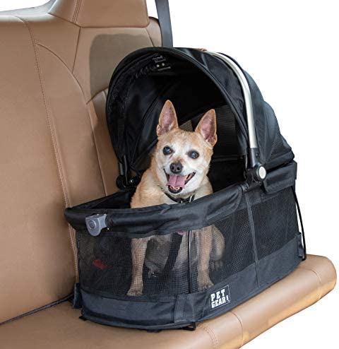 Pet Gear Carrier Car Seat for Cats and Dogs