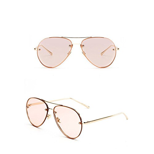JUJU MALL-Vintage Aviator Sunglasses Women Men Retro Shades Glasses Metal Frame - Au Bans Ray