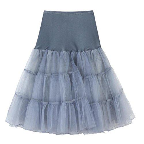 Faldas, Challeng Falda- Plisada del tutú del adulto de la alta Calidad para mujer .Falda corta plisada de cintura alta falda de baile adulto tutu (M, ...