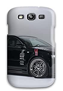 New SNMbtlk4677VQKPC Audi A3 Front Black Grey Sportback Cars Audi Tpu Cover Case For Galaxy S3