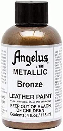 Angelus Leather Paint 4 oz Bronze