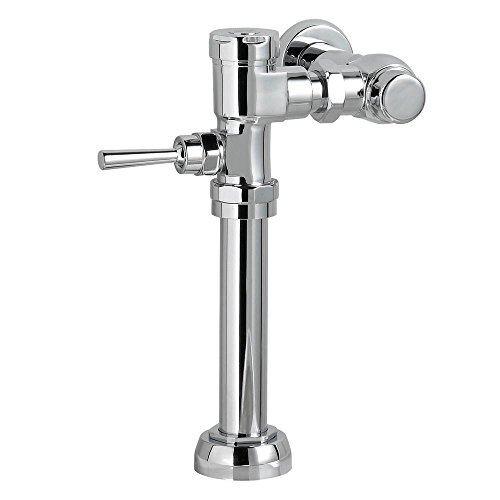American Standard 7017.121.002 Manual 1.28 GPF 11.5'' Rough-In Toilet Flush Valve in Polished Chrome by American Standard